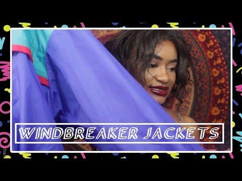 Thrift Haul! Windbreaker Jackets