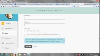 Mailchimp Toplu Mail Servisi Kullanımı Ücretsiz