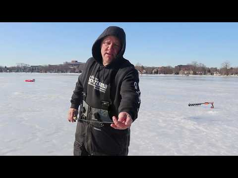 Benefits to using a long rod (Ice Fishing)