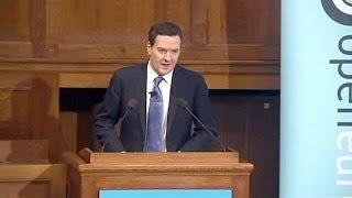 Osborne uses eurosceptic forum to warn about EU economy - economy