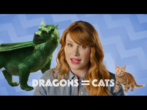"""""""Bryce Dallas How-To"""" with Bryce Dallas Howard - Dragon Cat Costume!"""