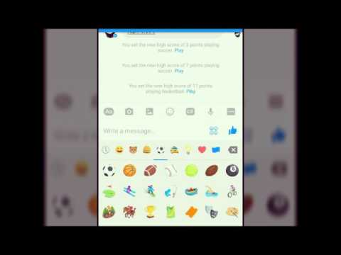 How to find out Facebook Messenger 3 Hidden Games ||