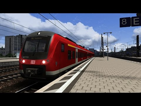 Lets Test Train Simulator 2016 [60FPS] BR440 Coradia Continental |