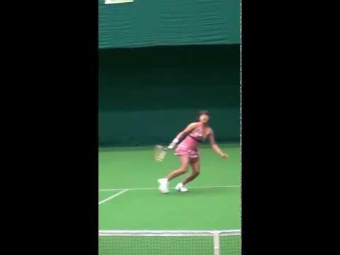 加藤未唯ちゃん テニス美女のストローク Stroke of Miyu Katoh,tennis beauty