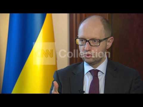 UKRAINE PM YATSENYUK ON OPTIONS TO STOP RUSSIA