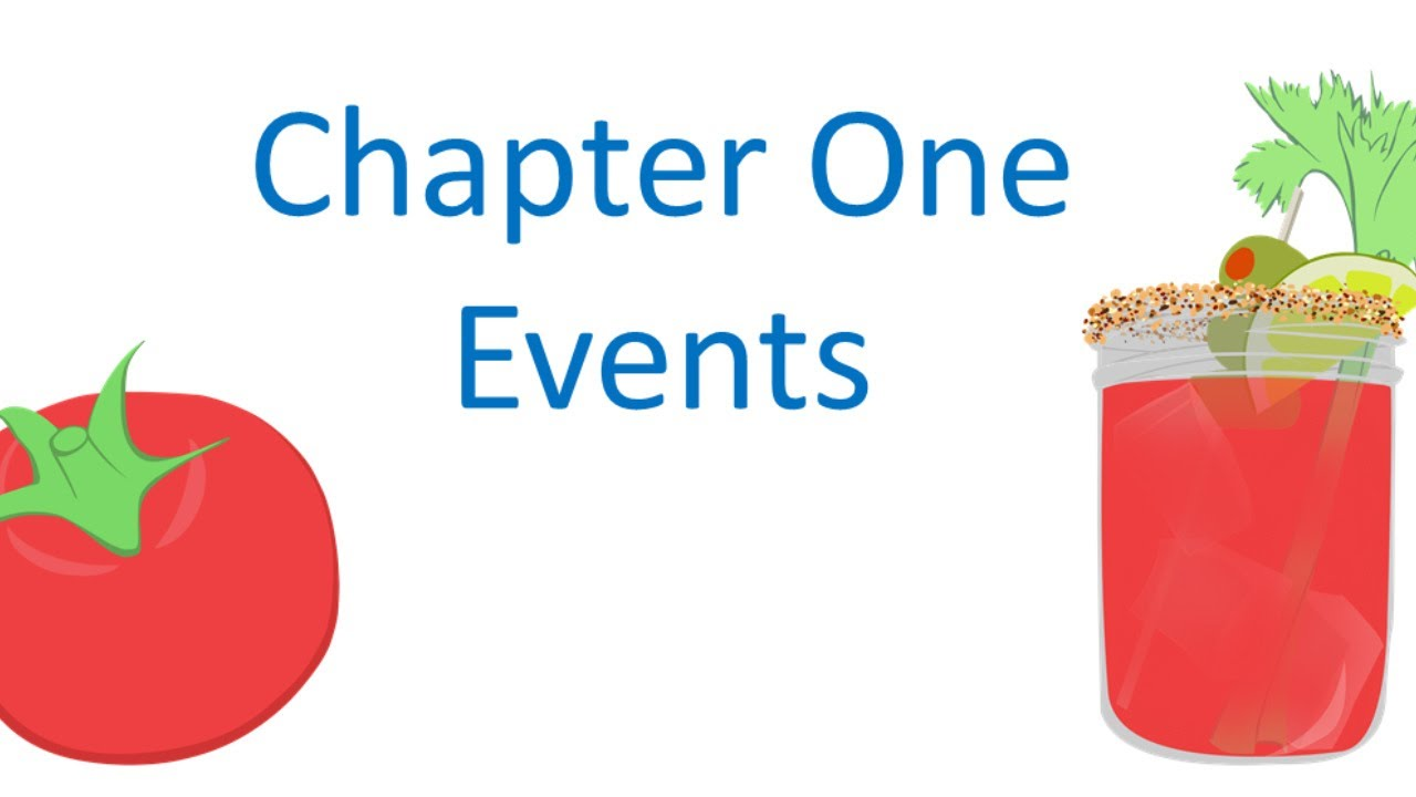 Chapter One Events
