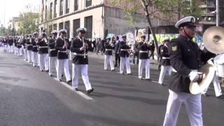Academia Politécnica Naval, Desfile en Monumento a los Heroes de Iquique, 19 de septiembre de 2013