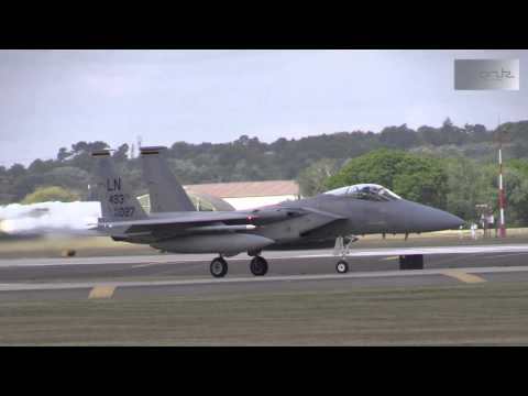 Plane Spotting at RAF Lakenheath 20-05-2015 - The Eagles