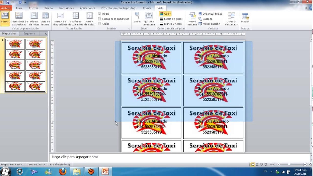 Crear Tarjetas De Presentacion