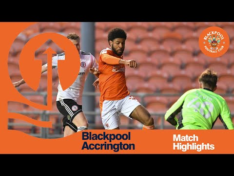 Blackpool Accrington Goals And Highlights