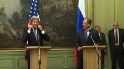 Kerry searches for common ground with Russia on Syria