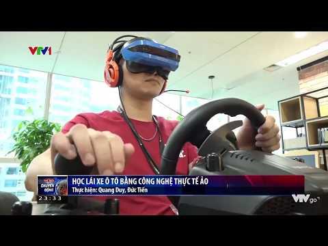 Ứng dụng công nghệ VR học lái xe ô tô   VTV24