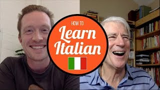 Olly and Steve Kaufmann Discuss Learning Italian with Comprehensible Input