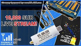 Interactive SDR Live Stream | 10K Subscriber Celebration and Giveaway!