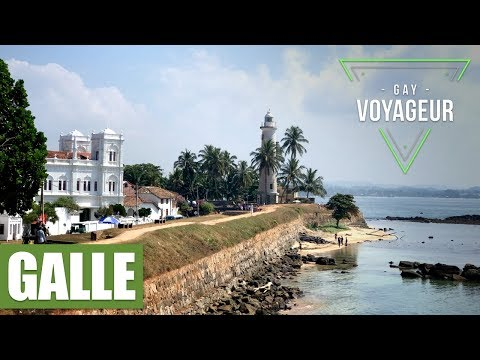 Galle (Sri Lanka) : tourist guide in english - video guide tour in 4K