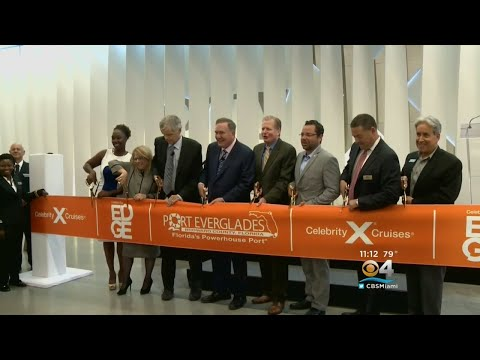Port Everglades Officially Opens New $120 Million Terminal