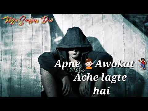 Sad Shayari Whatsapp Status | Killer Status | Attitude Status |  Mr.sanjay Dev