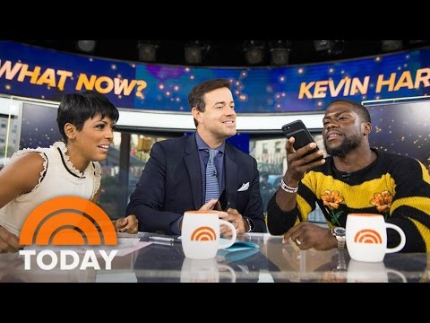 Kevin Hart's Dad Got Apple To Tweak Siri On His iPhone | TODAY