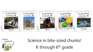 Tour of the Science Lapbooks by Elemental Science