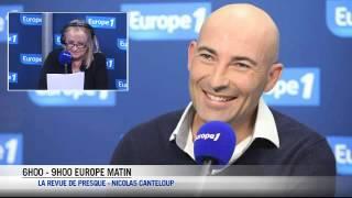 """Nicolas Canteloup - Copé : """"Je le vois gros comme un appartement du fils Fabius"""""""