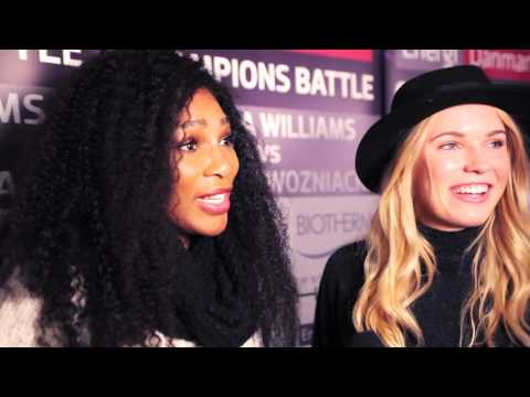 EDCB15 - Serena Williams and Caroline Wozniacki interview