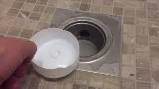 Запах из канализации Не работает душевой трап, как исправить