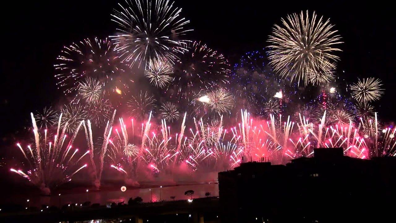 Chinese Valentine S Day Fireworks Taipei 2013 Youtube