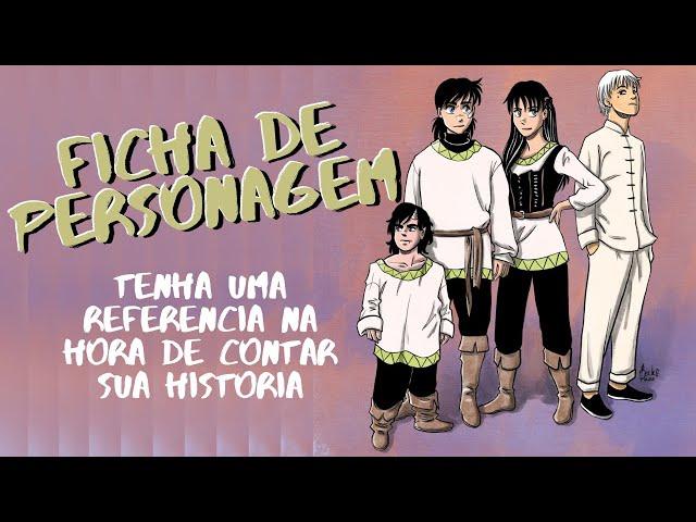 Ficha de referência de personagem