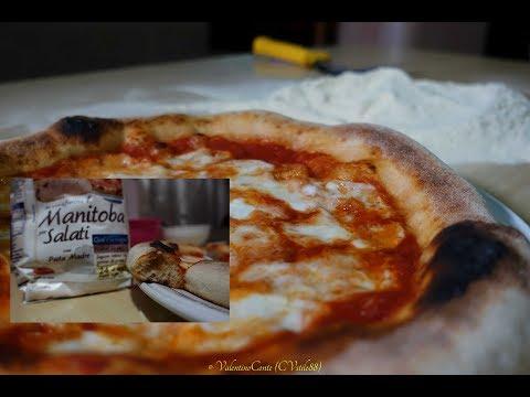 Pizza con Farina di Manitoba 75 % di idratazione