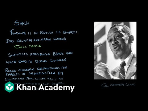 Brown V. Board Of Education Of Topeka | US Government And Civics | Khan Academy