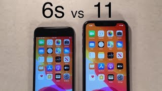 iPhone 11 vs iPhone 6s Speed Test