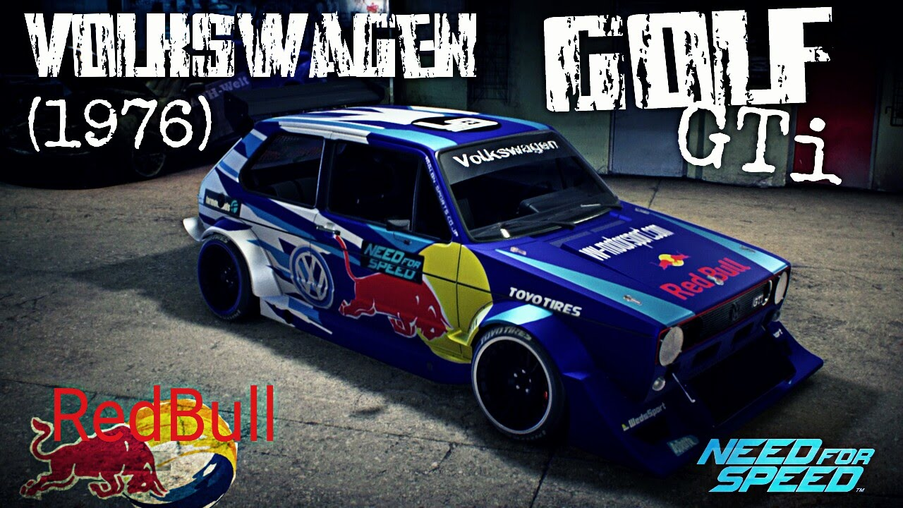 need for speed 2015 volkswagen golf gti 1976 redbull. Black Bedroom Furniture Sets. Home Design Ideas