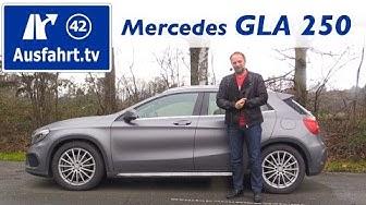 2015 Mercedes-Benz GLA 250 4MATIC - Fahrbericht der Probefahrt, Test, Review Ausfahrt.tv
