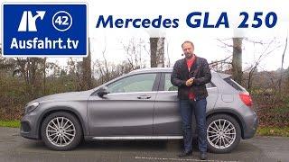 2015 Mercedes-Benz GLA 250 4MATIC - Fahrbericht der Probefahrt, Test, Review Ausfahrt.tv Video