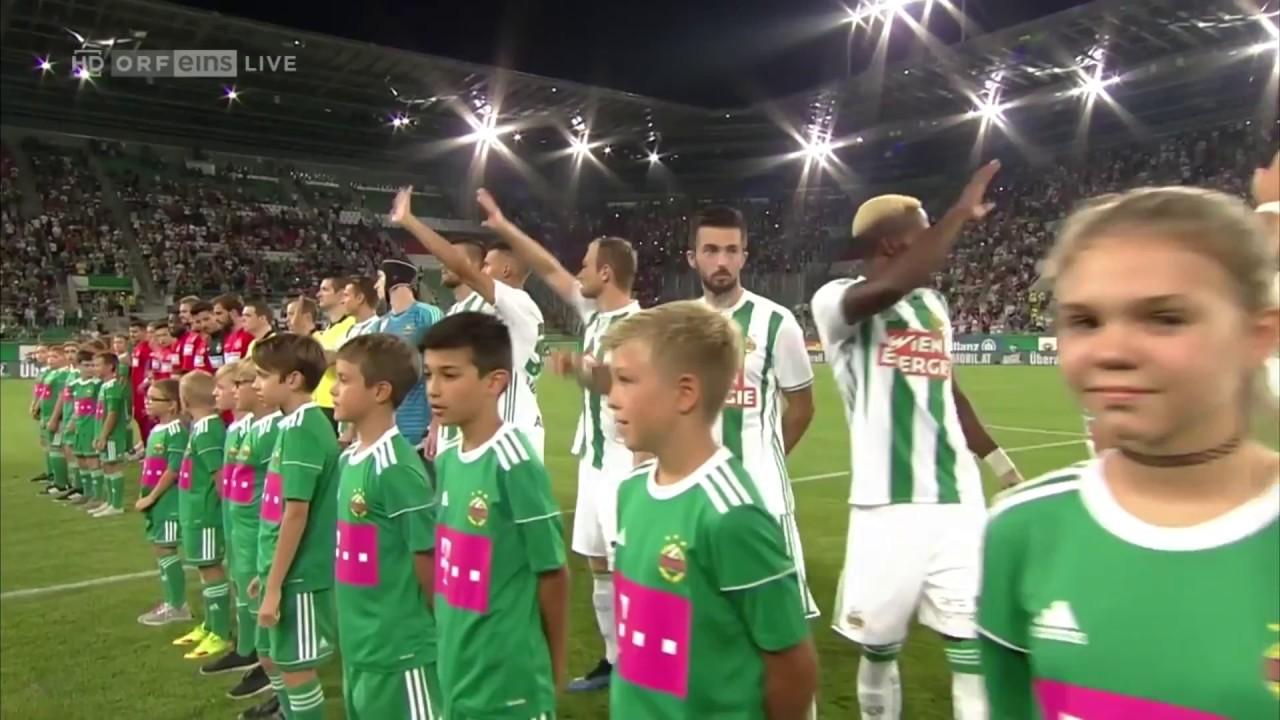 23 08 2018 Rapid Wien Steaua Bukarest 3 1 Highlights Hd Youtube