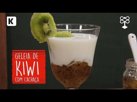 Como fazer: Geleia de Kiwi com cachaça