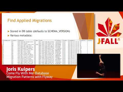 J-Fall 2017 Joris Kuipers - Come Fly With Me: Database Migration Patterns with Flyway