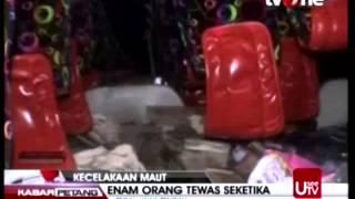 Kecelakaan Bus Pariwisata di Wisata Guci Tegal