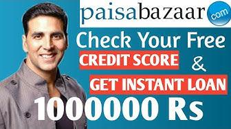 Paisa Bazaar Se Loan Kaise Le | Paisa Bazaar kya hai | Credit score or CIBIL score Kaise check kare