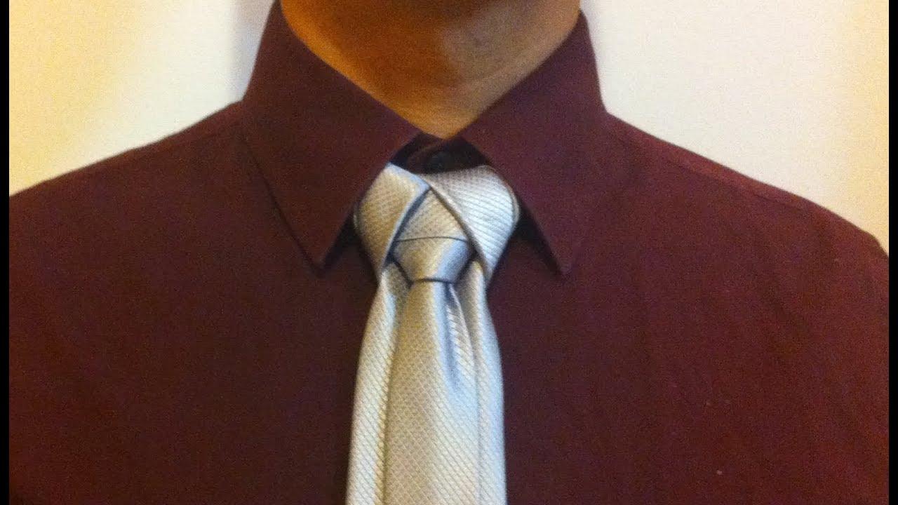 Como hacer el nudo de corbata 39 ediety 39 doovi for Nudo de corbata windsor