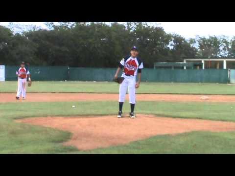 Emmanuel Ojeda pitcher zurdo prospecto de Grandes Ligas - YouTube