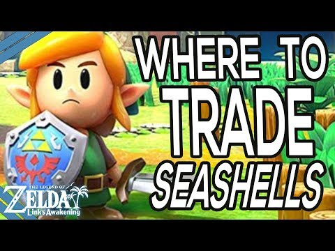 Where To Trade Seashells In Zelda Link S Awakening