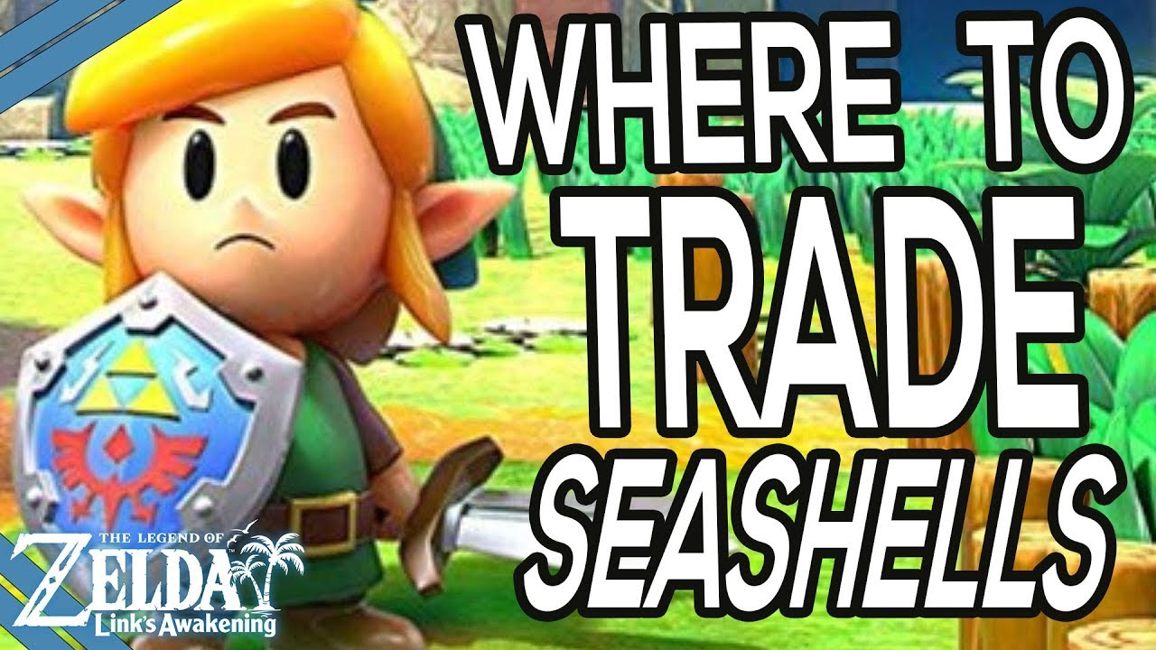 Where To Trade Secret Seashells In Zelda Link S Awakening