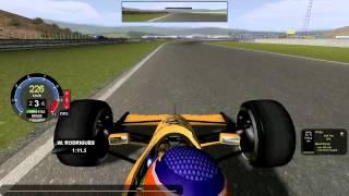 [rFactor] Lotus-Lamborghini 102 @ Jerez de la Frontera with Martin Donnelly (mod SRM 1990) [HD]