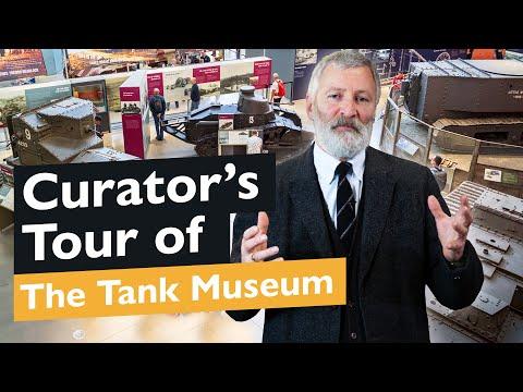 Curator's Tank Museum Tour: Tank Story Hall - WW1   The Tank Museum
