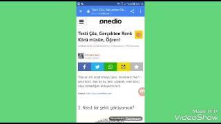 Download Reng Koru Testi Reng Koru Deyilim Videos Dcyoutube