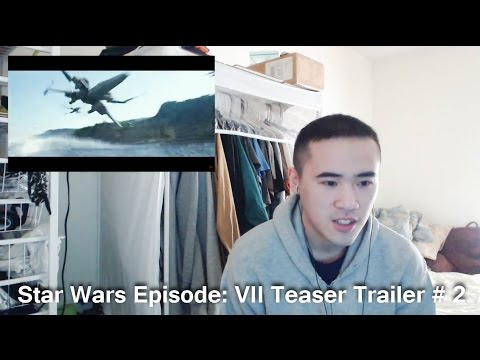 Celebrity reactions to star wars trailer episode