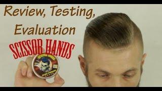 Бриолин для волос slick pomade от scissor hands обзор тестирование оценка