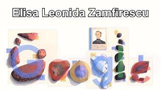 Elisa Leonida Zamfirescu - 131. Geburtstag von Elisa Leonida Zamfirescu - 10.11.2018 (Google Doodle)