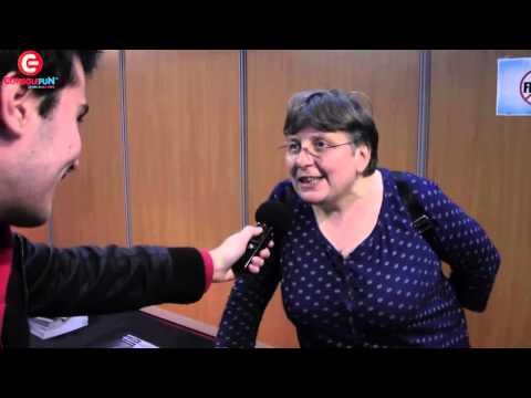 [TGS 2014] Brigitte Lecordier nous interprète San Goku (DBZ) et Oui-Oui